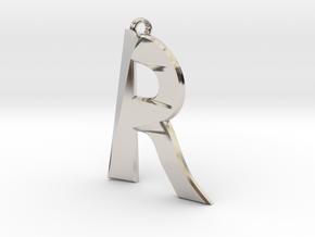 Distorted letter R in Platinum