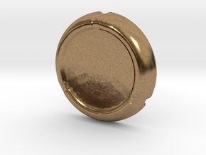 Kanoka disk in Natural Brass