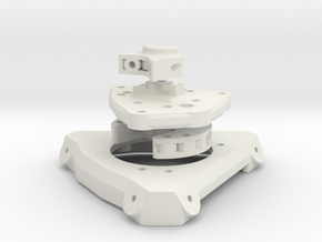 Piezo Assembly with 64 mm effector in White Strong & Flexible
