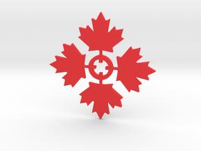 HG Airsoft Logo in Red Processed Versatile Plastic