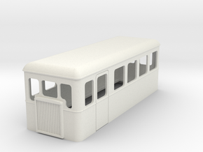 1:35 scale railbus 20 in White Natural Versatile Plastic