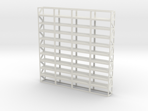 Industrial Shelf scale 1-100 in White Strong & Flexible: 1:100