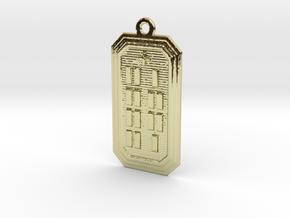 ODIYEKUN in 18k Gold Plated Brass