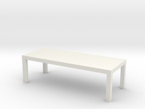 Table Solid 1-100 300x120x90 Cm in White Strong & Flexible: 1:100