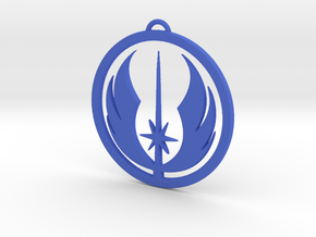 Jedi Order Pendant in Blue Processed Versatile Plastic