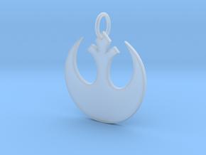 Rebellion Keychain in Smooth Fine Detail Plastic