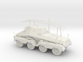 VA Sd.kfz 263 1:48 28mm wargames in White Strong & Flexible