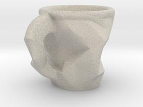 Espresso Cup in Natural Sandstone