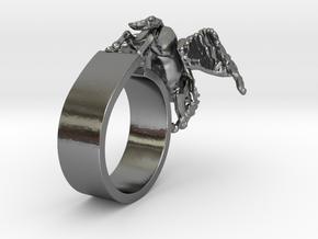 RingPegasus in Polished Silver