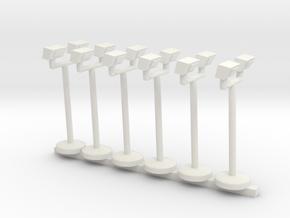 Spinridelights in White Natural Versatile Plastic
