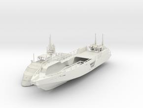 1-87 MKVI Patrol Boat in White Natural Versatile Plastic
