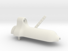 Water Inlet - Inlet Side in White Strong & Flexible