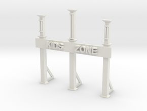 KIDS ENTRANCE GATE in White Natural Versatile Plastic