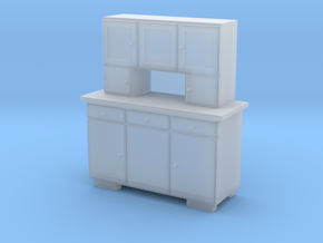 H0 Cupboard 3 Doors - 1:87 in Frosted Ultra Detail