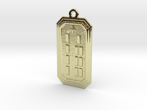 OBARABOGBE in 18k Gold Plated Brass