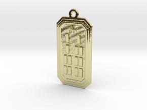 OBARAKOSO in 18k Gold Plated Brass