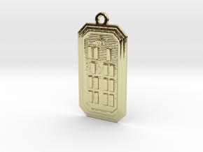 OBARAKA in 18k Gold Plated Brass