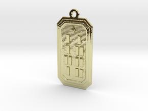 OBARAKETE in 18k Gold Plated Brass