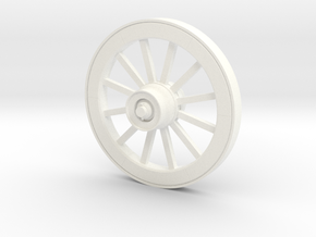 Wagonwheel HD 51in-45-01 in White Processed Versatile Plastic