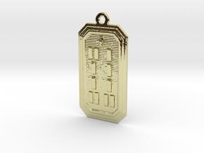 OGUNDAWORI in 18k Gold Plated Brass