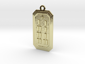 OGUNDABARA in 18k Gold Plated Brass