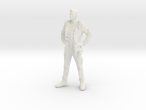 Printle C Homme 008 - 1/43 - wob in White Strong & Flexible