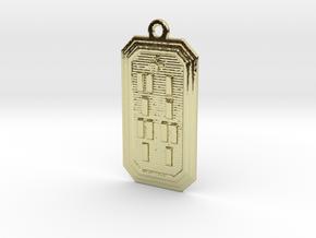 IRETEFEUN in 18k Gold Plated Brass