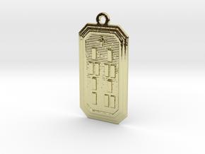 OSHETURA in 18k Gold Plated Brass