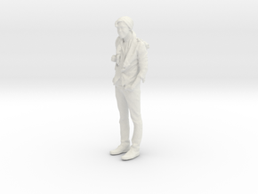 Printle C Homme 014 - 1/43 - wob in White Natural Versatile Plastic