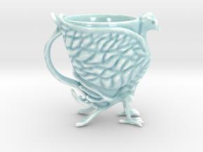 The Phoenix Mug in Gloss Celadon Green Porcelain