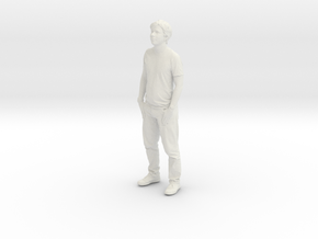 Printle C Homme 023 - 1/43 - wob in White Natural Versatile Plastic