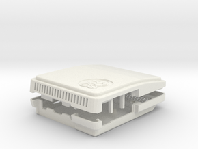 SuperMushberryPi Case in White Strong & Flexible