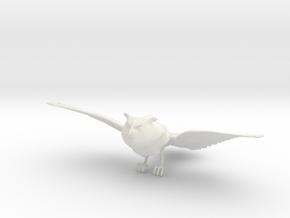 1/12 Owl Flying Hunting Pose Harry Potter in White Natural Versatile Plastic