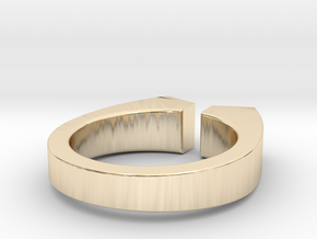 Lacuna (9) in 14k Gold Plated Brass