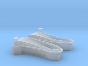 1/72 USN Windlass Foredeck in Smooth Fine Detail Plastic