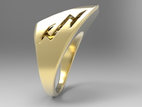 Speedy Ring G in 18k Gold Plated Brass: 10 / 61.5