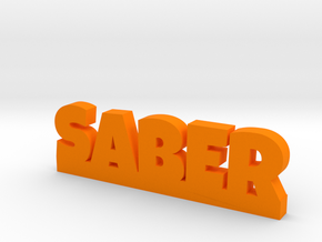 SABER Lucky in Orange Strong & Flexible Polished