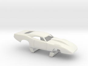 1/12 69 Daytona Pro Mod Smooth Door in White Natural Versatile Plastic