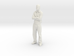 Printle C Homme 048 - 1/43 - wob in White Natural Versatile Plastic