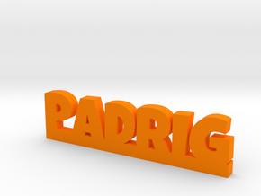 PADRIG Lucky in Orange Processed Versatile Plastic