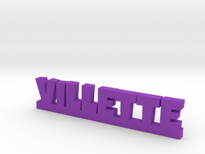 VILLETTE Lucky in Purple Strong & Flexible Polished