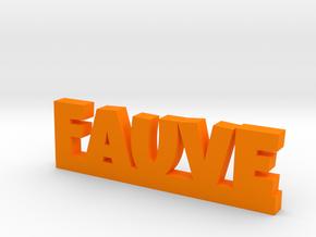 FAUVE Lucky in Orange Processed Versatile Plastic
