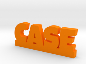 CASE Lucky in Orange Processed Versatile Plastic
