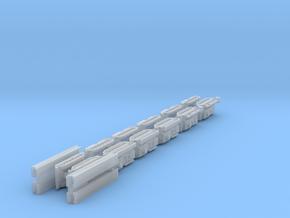 1/700 Leopard ARV, AEV & AVLB x12 (FUD) in Smooth Fine Detail Plastic