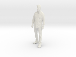 Printle C Homme 054 - 1/43 - wob in White Natural Versatile Plastic