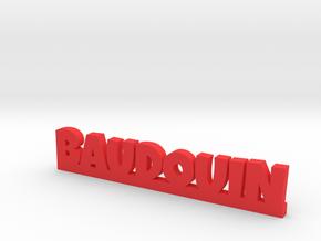 BAUDOUIN Lucky in Red Processed Versatile Plastic
