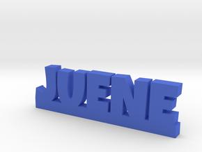 JUENE Lucky in Blue Processed Versatile Plastic