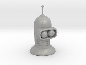 Bender's head in Aluminum