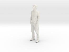 Printle C Homme 023 - 1/56 - wob in White Natural Versatile Plastic