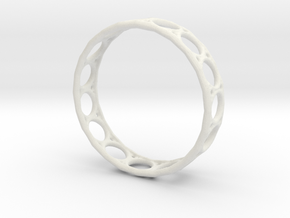 Ring 1.5mm in White Strong & Flexible